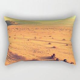 Tracks Rectangular Pillow
