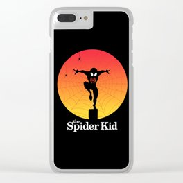 The Spider Kid Clear iPhone Case