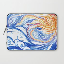 Winter Storm Laptop Sleeve