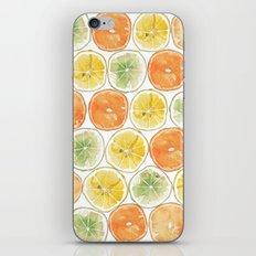 Orange Print iPhone & iPod Skin