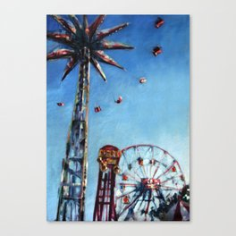 Spinning in the Sky Canvas Print