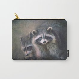 The two Raccoons.. Carry-All Pouch