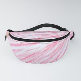 Rose pink Pixel Wind Fanny Pack