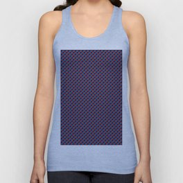 3D Red Blue Stereo Vision Unisex Tank Top