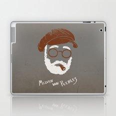 Melvin Van Peebles Minimalist Portrait Laptop & iPad Skin