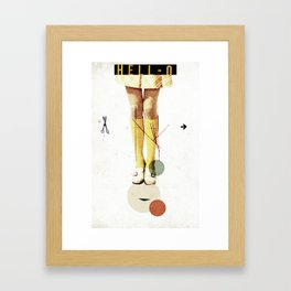 Cut The (...)   Collage Framed Art Print