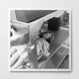 Morgue for Dolls Metal Print