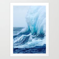Where there's a wave there's a way Art Print