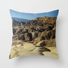 The Death Valley Throw Pillow