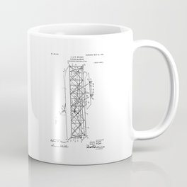 Wright Brothers Patent: Flying Machine Coffee Mug