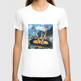 Golden Power | Collage T-shirt