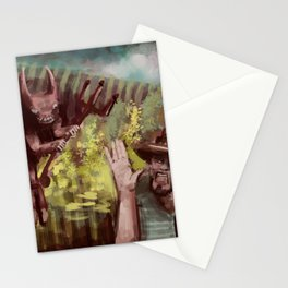 Demon of the Maize Stationery Cards