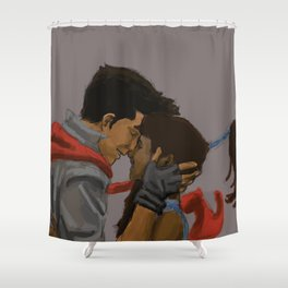 Makorra Painting Shower Curtain