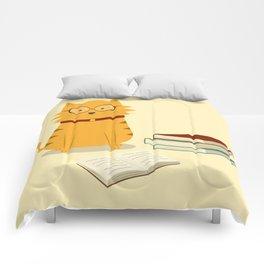Nerdy Cat Comforters