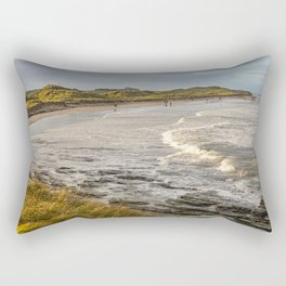 Seahouses Beach Rectangular Pillow
