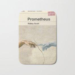 Prometheus Book Cover Bath Mat
