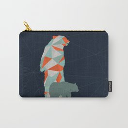 Geo Bear Carry-All Pouch