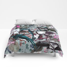 Floral and Birds XXIV Comforters
