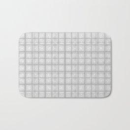 The Grid Bath Mat
