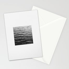 Grain over calm water Stationery Cards