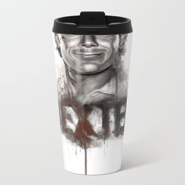 DEXTER poster v2 Metal Travel Mug
