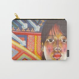 Continental Summit of Indigenous Peoples Mural Carry-All Pouch