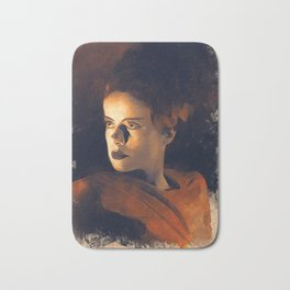 Elsa Lanchester Bride of Frankenstein Bath Mat