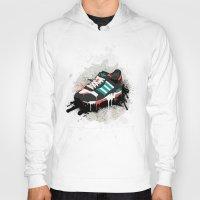 sneaker Hoodies featuring Sneaker by Nicu Balan