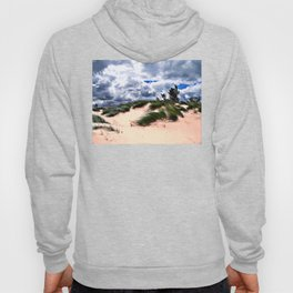 Sandy Beach Dune Grass Hoody