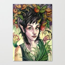 Poison Pixie Canvas Print