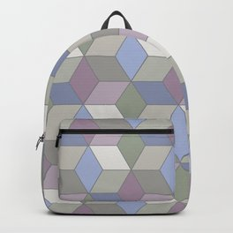 Cool Pastel Diamonds Backpack