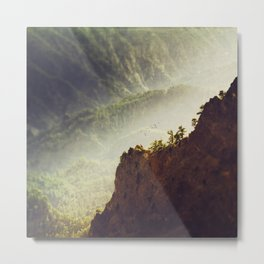 Long Way Down - Caldera de Taburiente - La Palma Metal Print