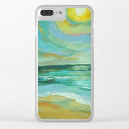 Hover Over Clear iPhone Case