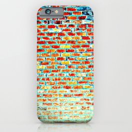 Brick Abstract iPhone Case