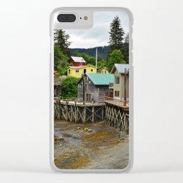 Tides Out - Seldovia, Alaska Clear iPhone Case