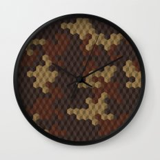 CUBOUFLAGE LUXE Wall Clock
