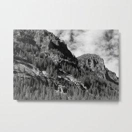 Crags Metal Print