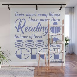 Reading Gigi Wall Mural