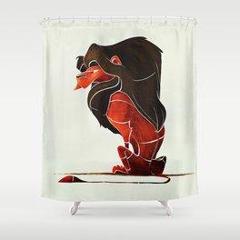 Lion 3 Shower Curtain
