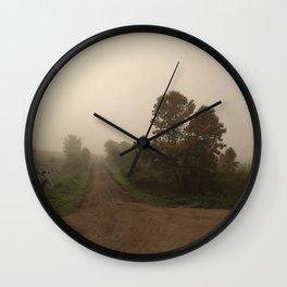 Nowhere, ND Wall Clock