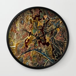 A Country Somewhere. Wall Clock