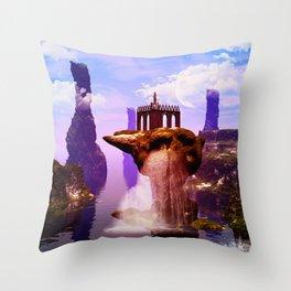Fantasy world Throw Pillow