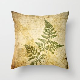 Of The Woods Throw Pillow