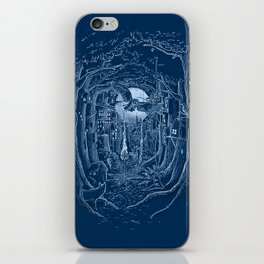 Through the Forest iPhone Skin