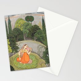 The Heroine Who Waits Anxiously for Her Absent Lover Stationery Cards