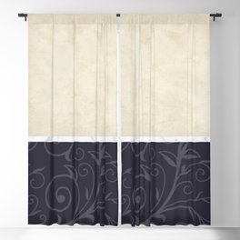Blended Elements Blackout Curtain