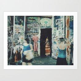 Berlin kunsthaus Tacheles Art Print