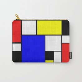 Colored Squares Art Carry-All Pouch