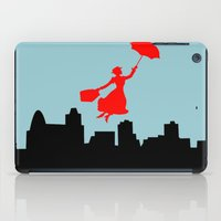 mary poppins iPad Cases featuring Mary Poppins  by Sammycrafts