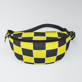 TEAM COLORS 4 YELLOW BLACK WHITE Fanny Pack